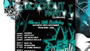 Blackout Party Invitations Templates Blackout Party Invitations Uv Glow Dance Party Blacklight