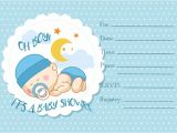 Blank Baby Boy Shower Invites 30 Baby Shower Invitations Printable Psd Ai Vector
