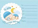 Blank Baby Boy Shower Invites 30 Baby Shower Invitations Printable Psd Ai Vector