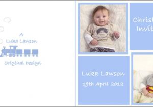 Blank Baptism Invitation Cards Blank Christening Invitation Card Design