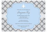 Blank Baptism Invitation Cards Christening Invitation Blank Template