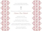 Blank Baptismal Invitation Layout Baptism Invitation Template Baptism Invitation Blank