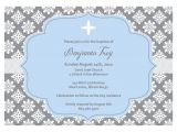 Blank Baptismal Invitation Layout Christening Invitation Blank Template