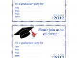 Blank Graduation Invitation Cards Blank Graduation Invitations Printable Cortezcolorado Net