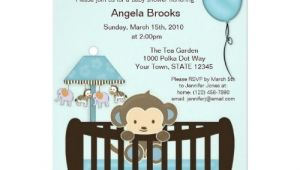 Blank Monkey Baby Shower Invitations Free Printable Monkey Invitations Blank