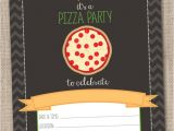 Blank Pizza Party Invitation Template Instant Download Pizza Party Invitation by Inkobsessiondesigns