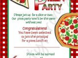 Blank Pizza Party Invitation Template Pizza Party Invitation Template Free Party Ideas