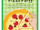 Blank Pizza Party Invitation Template Pizza Pizza Party Invitations Cards On Pingg Com