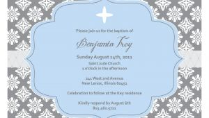 Blank Sample Of Baptismal Invitation Christening Invitation Blank Template