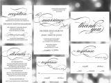 Blank Wedding Invitation Sets Printable Wedding Invitation Template Invites Weddi On