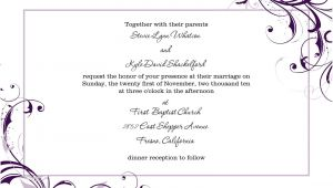 Blank Wedding Invitation Templates for Microsoft Word Free Blank Wedding Invitation Templates for Microsoft Word