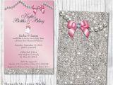 Bling Baby Shower Invitations 14 Best Bling Baby Shower Invitations Images On Pinterest