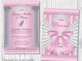 Bling Baby Shower Invitations Bling Baby Shower Invitations Pink Princess Baby Shower