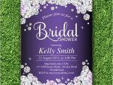 Bling Bridal Shower Invitations Elegant Bridal Shower Wedding Invitation Rhinestone Diamond