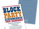 Block Party Invitation Template Giddy with Gingham Neighborhood Block Party Invitations