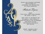 Blue and Gold Graduation Invitations 2013 Blue and Gold Photo Graduation Invitation Zazzle