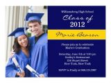Blue and Gold Graduation Invitations Blue and Gold Graduation Invitation Class Of 2012 5 Quot X 7