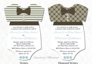 Blue Green Brown Baby Shower Invitations Blue Brown and Green Epiece Baby Shower Invitations 25