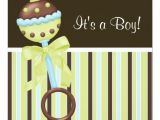 Blue Green Brown Baby Shower Invitations Mint Green Blue Brown Baby Boy Shower Invitations