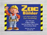 Bob the Builder Birthday Party Invitations Items Similar to Bob the Builder Birthday Party Invitation