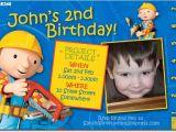 Bob the Builder Birthday Party Invitations Se346 themed Birthday Boy Bob the Builder Boys