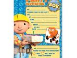 Bob the Builder Party Invitations Bob the Builder Invitation Cards Bob the Builder Party