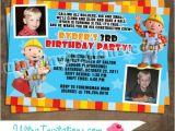 Bob the Builder Party Invitations Bob the Builder Invitations 2