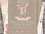 Boho Chic Birthday Invitation Template Boho Chic Party Invitation