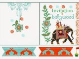 Bollywood Party Invitations Free Bollywood Free Printables Oh My Fiesta In English