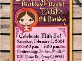 Bollywood theme Party Invitation Card Bollywood Birthday Invitation Envelope Di 508env