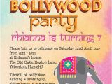 Bollywood theme Party Invitation Card Bollywood Children 39 S Party Invitation From 0 80 Each