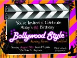 Bollywood theme Party Invitation Card Kids 39 Party Invitations Made by Mouse