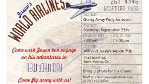 Bon Voyage Party Invitation Template 7 Best Images Of Bon Voyage Printable Template Bon