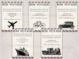 Bon Voyage Party Invitation Template Mother Duck Said Quot Lets Party Quot Bon Voyage