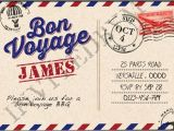 Bon Voyage Party Invitations Bon Voyage Party Invitation