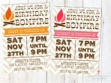 Bonfire Party Invitations Free Bonfire Invitations Template Resume Builder