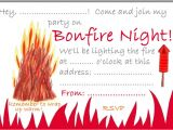 Bonfire Party Invitations Free Bonfire Night Party Invitation Rooftop Post Printables