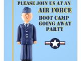 Boot Camp Going Away Party Invitations Air force Boot Camp Going Away Party Invitation 5 25