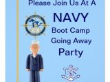 Boot Camp Going Away Party Invitations U S Navy Boot Camp Going Away Party Invitation