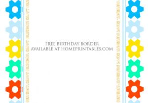 Borders for Party Invitations Free Fun Designs Free Birthday Borders for Invitations Home