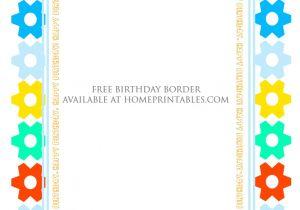 Borders for Party Invitations Free Fun Designs Free Birthday Borders for Invitations Home