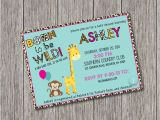 Born to Be Wild Baby Shower Invitations Born to Be Wild Baby Shower Invitation