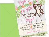 Born to Be Wild Baby Shower Invitations Born to Be Wild Baby Shower Invitation Safari Baby Shower