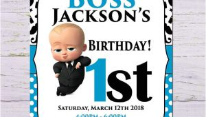 Boss Baby Birthday Invitation Template African Boss Baby Birthday Invitation Boss Baby Birthday