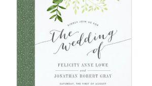 Botanical Wedding Invitation Template Wild Meadow Botanical Wedding Invitation Zazzle Com