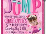 Bounce Party Invites Bounce House Jump Birthday Party Invitations Di 255