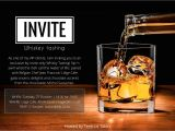 Bourbon Tasting Party Invitations Vip Invite Rich Ideas