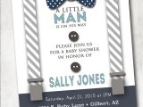 Bow Tie Baby Shower Invites Boy Baby Shower Invitation with Bow Tie and Suspenders Burlap