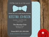 Bow Tie Baby Shower Invites Little Man Baby Shower Invitation Bow Tie Baby Shower Bow
