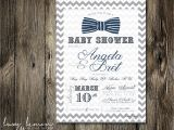 Bow Tie Baby Shower Invites Request A Custom order and Have something Made Just for You